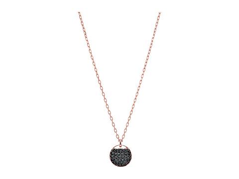Swarovski Ginger Pendant Necklace - Rose Gold