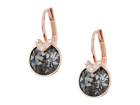 Swarovski Bella Pierced Earrings - Gray