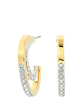 Swarovski - Circle Pierced Small Hoop Earrings