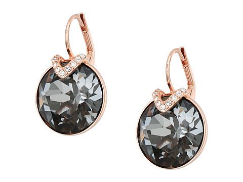 Swarovski Large Bella Pierced Earrings - Gray