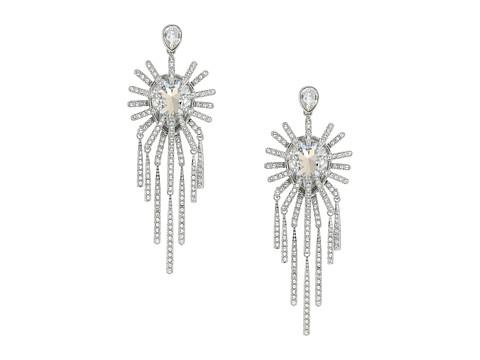 Swarovski Hippy Pierced Chandelier Earrings - White