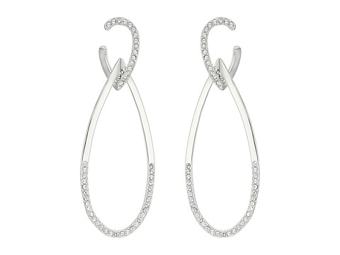 Swarovski Humming Pierced Earrings - White