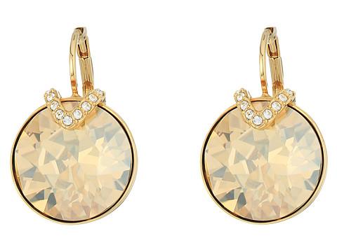 Swarovski Large Bella Pierced Earrings - Brown