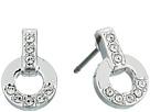 Swarovski - Circle Pierced Stud Earrings
