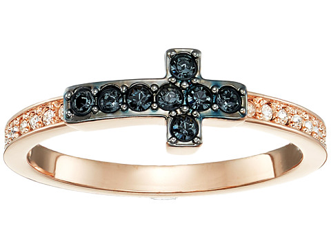 Swarovski Harvey Ring - Multi/Rose Gold/Black/Clear Crystal