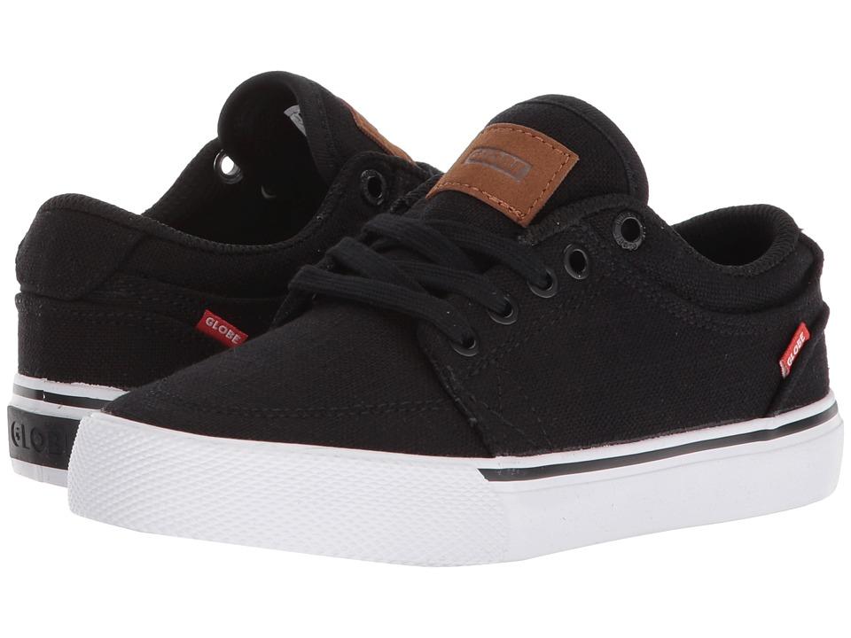 Globe - GS (Little Kids/Big Kids) (Black Hemp) Mens Skate Shoes