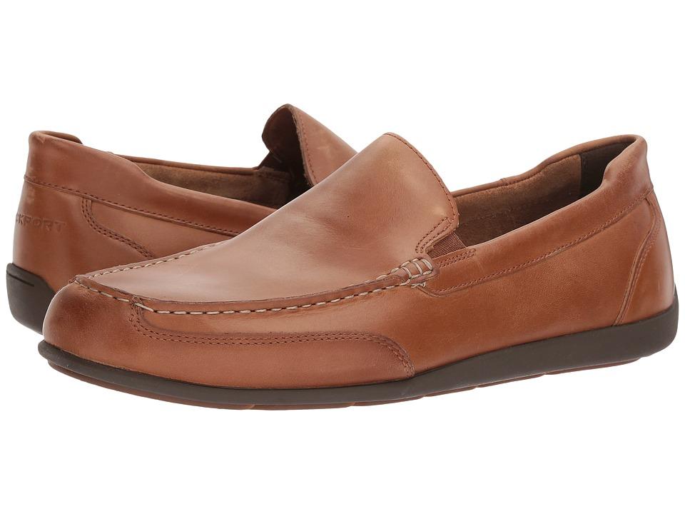 Rockport - Bennett Lane 4 Venetian (New Caramel Leather) Mens Shoes