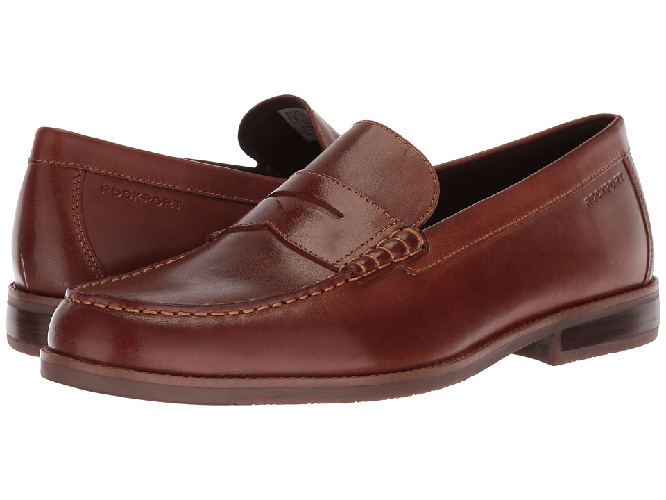Rockport - Cayleb Penny (Brown) Mens Shoes