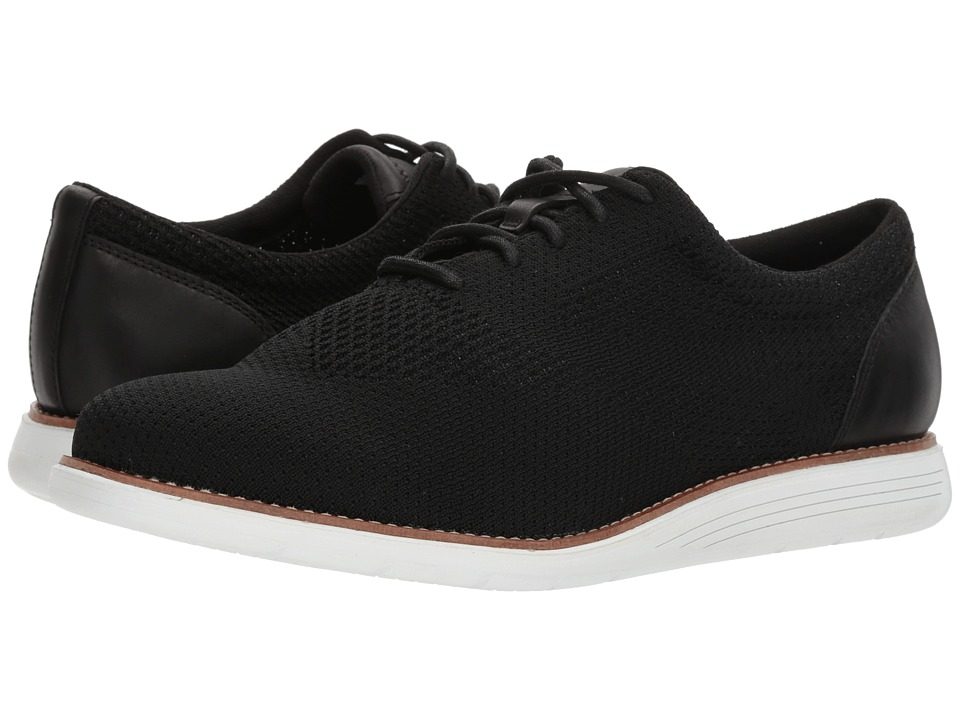 Rockport - Total Motion Sports Dress Woven Oxford (Black) Mens Shoes