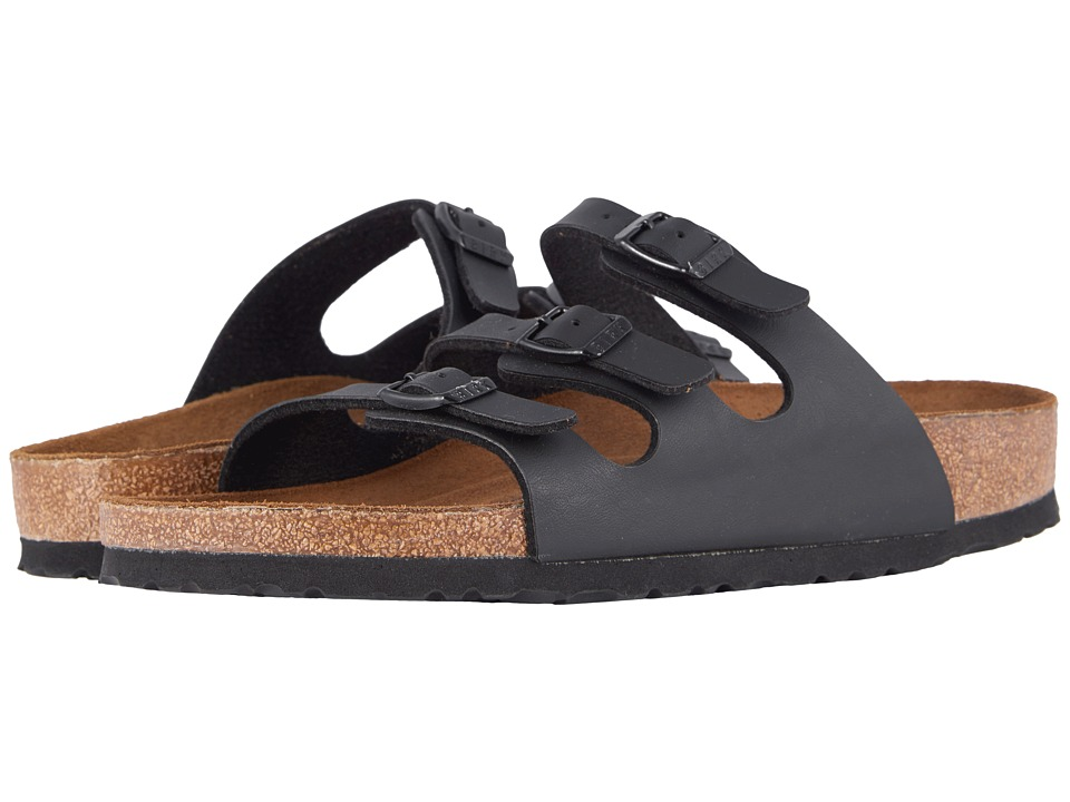 Birkenstock - Florida Soft Footbed - Birko-Flortm (Black Birko-Flortm 2) Womens Sandals
