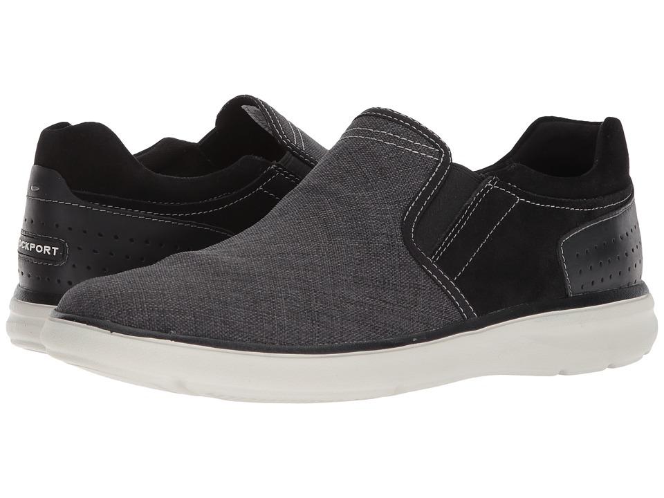 Rockport Shoes Womens Black Leather Washable