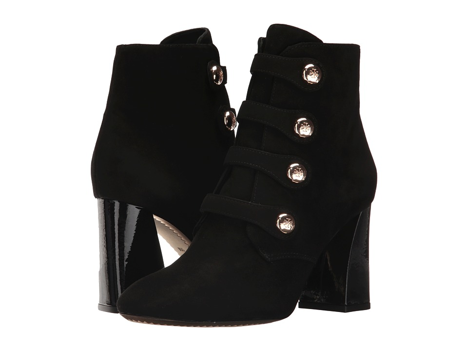 Tory Burch Marisa 85mm Strappy Boot (Black) Women