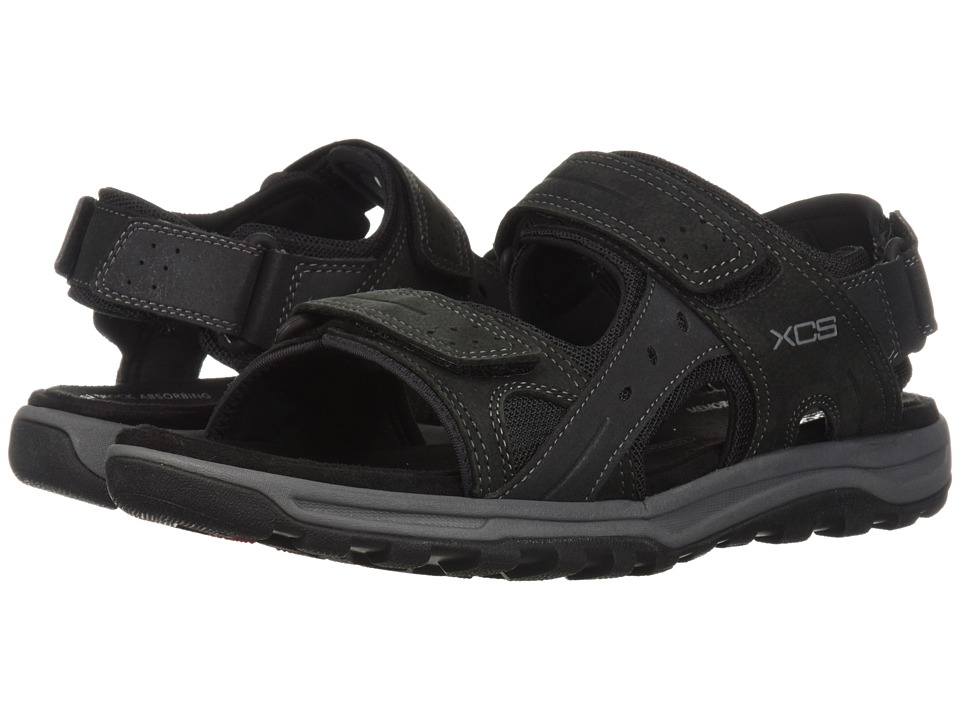 Rockport - Trail Technique Sandal (Black) Mens Shoes