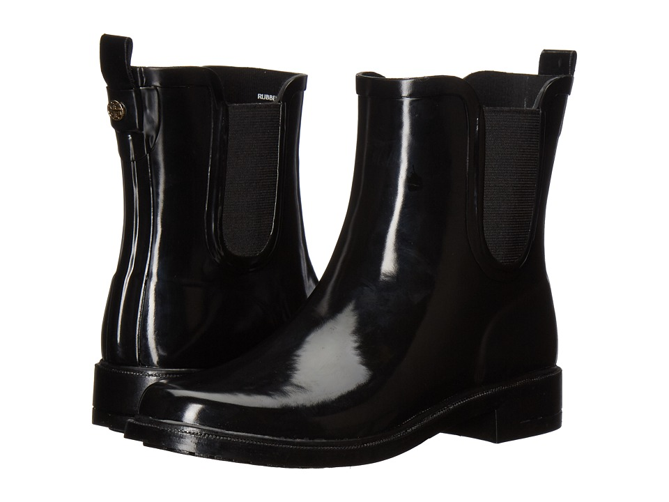 Tory Burch Stormy Rain Bootie (Black) Women's Rain Boots