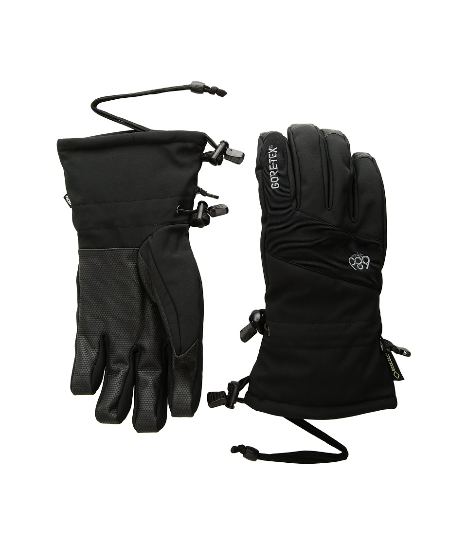 686 Gore-Tex Linear Gloves (Black) Extreme Cold Weather Gloves