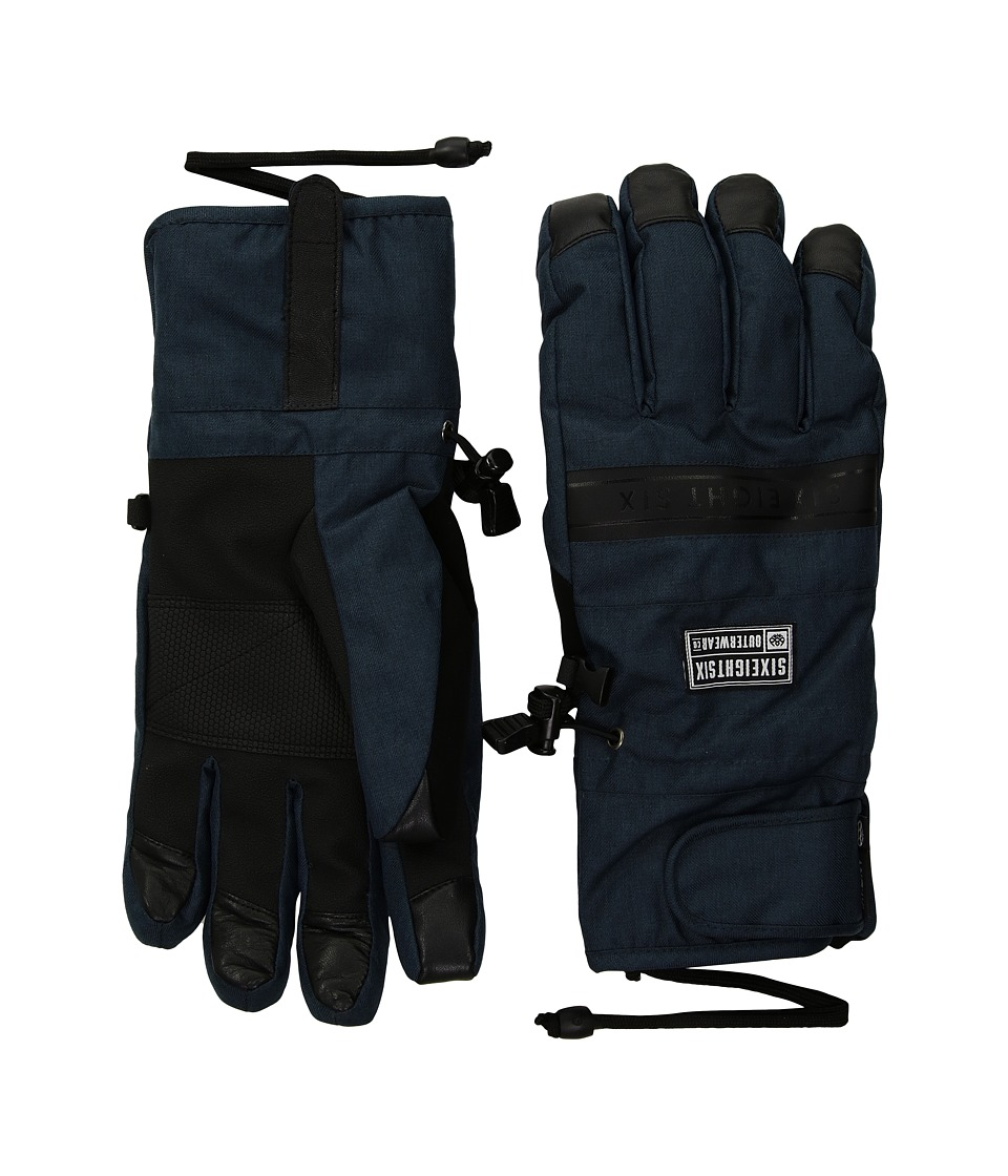 686 Infiloft Recon Gloves (Dark Denim Melange) Extreme Cold Weather Gloves