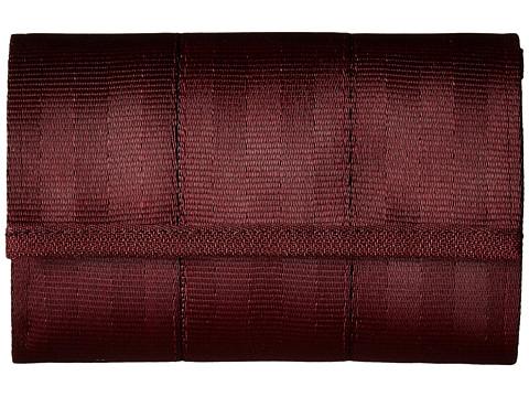Harveys Seatbelt Bag Snap Wallet - Black Cherry