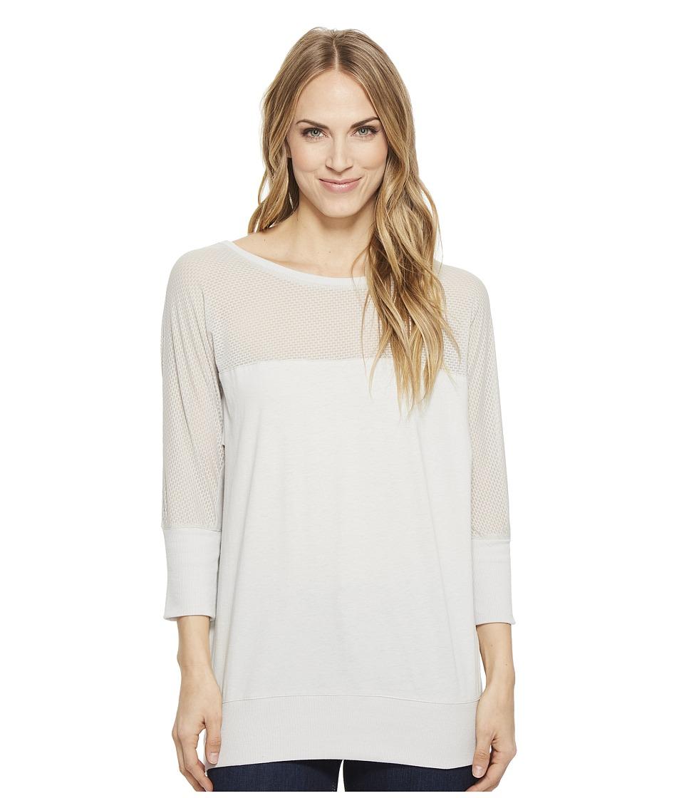 CINCH Mesh Dolman Tee (Gray) Women's T Shirt