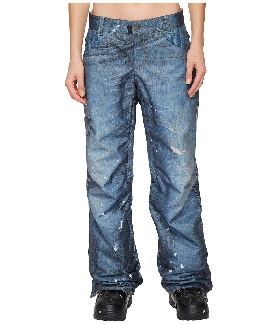 686 - Deconstructd Denim Insulated Pants