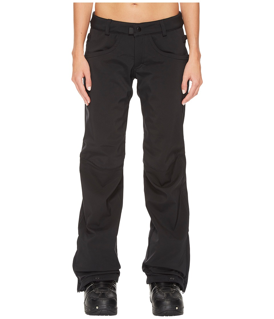 686 Gossip Softshell Pants (Black) Women