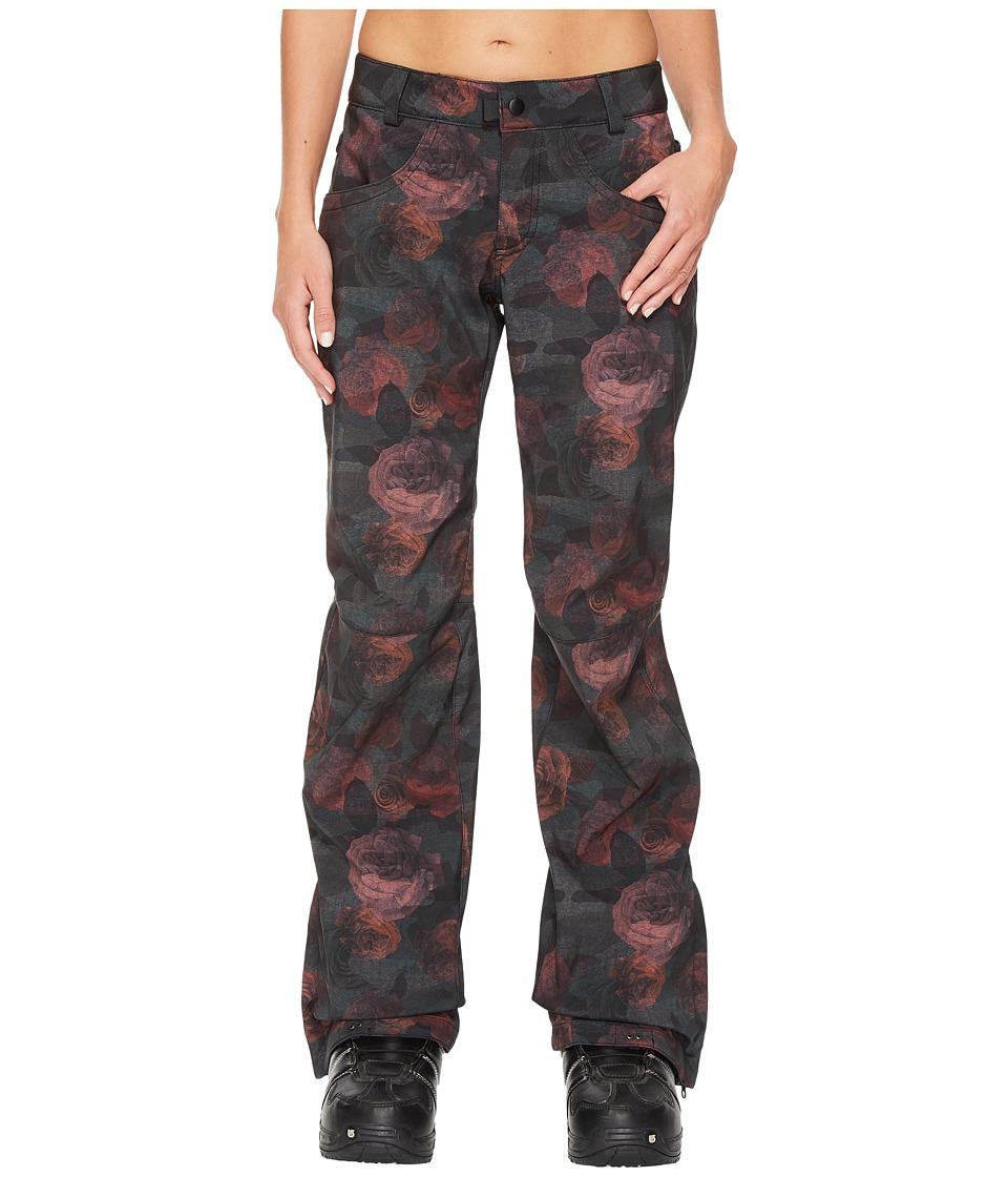 686 Gossip Softshell Pants (Camo Rose Print) Women