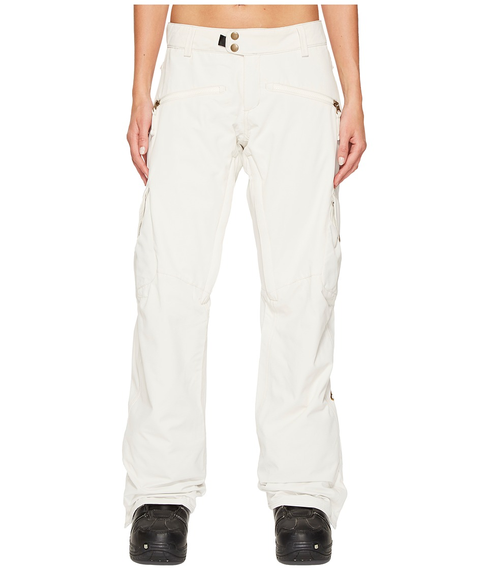 686 Mistress Insulated Cargo Pants (White) Women
