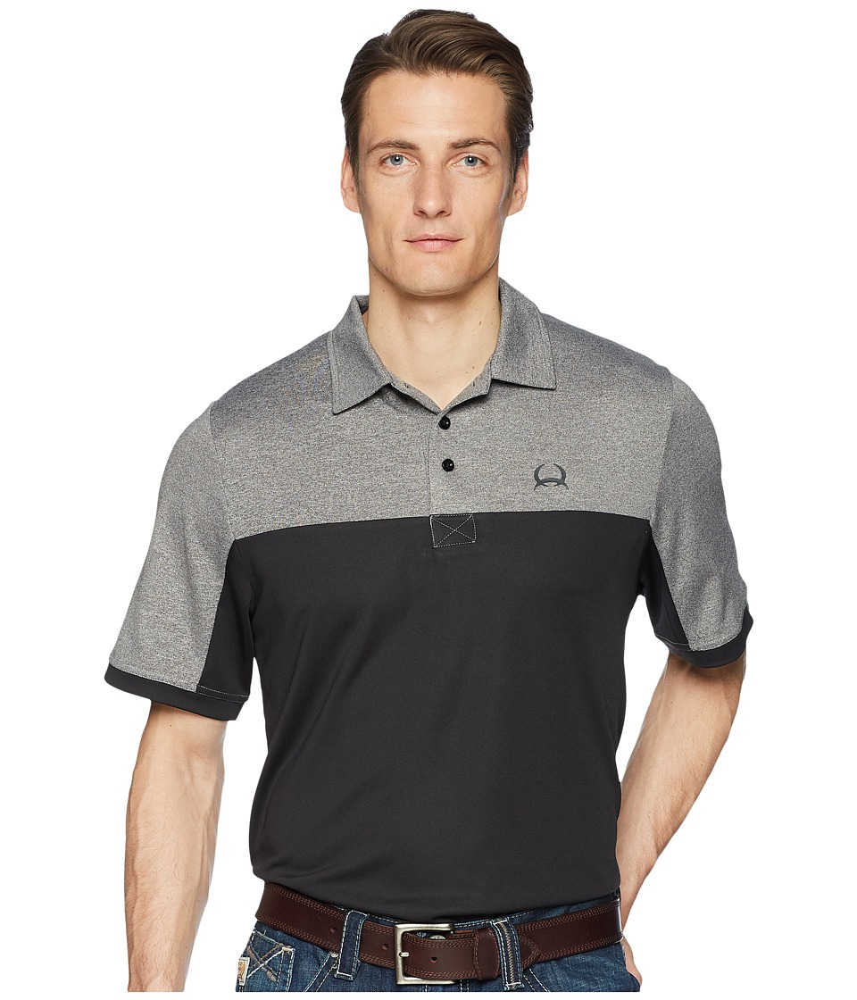 CINCH Athletic Tech Polo (Black) Men's Clothing