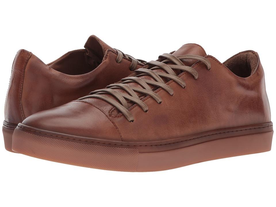 Mens John Varvatos Redding Oxford Sneakers Clay UPD74953