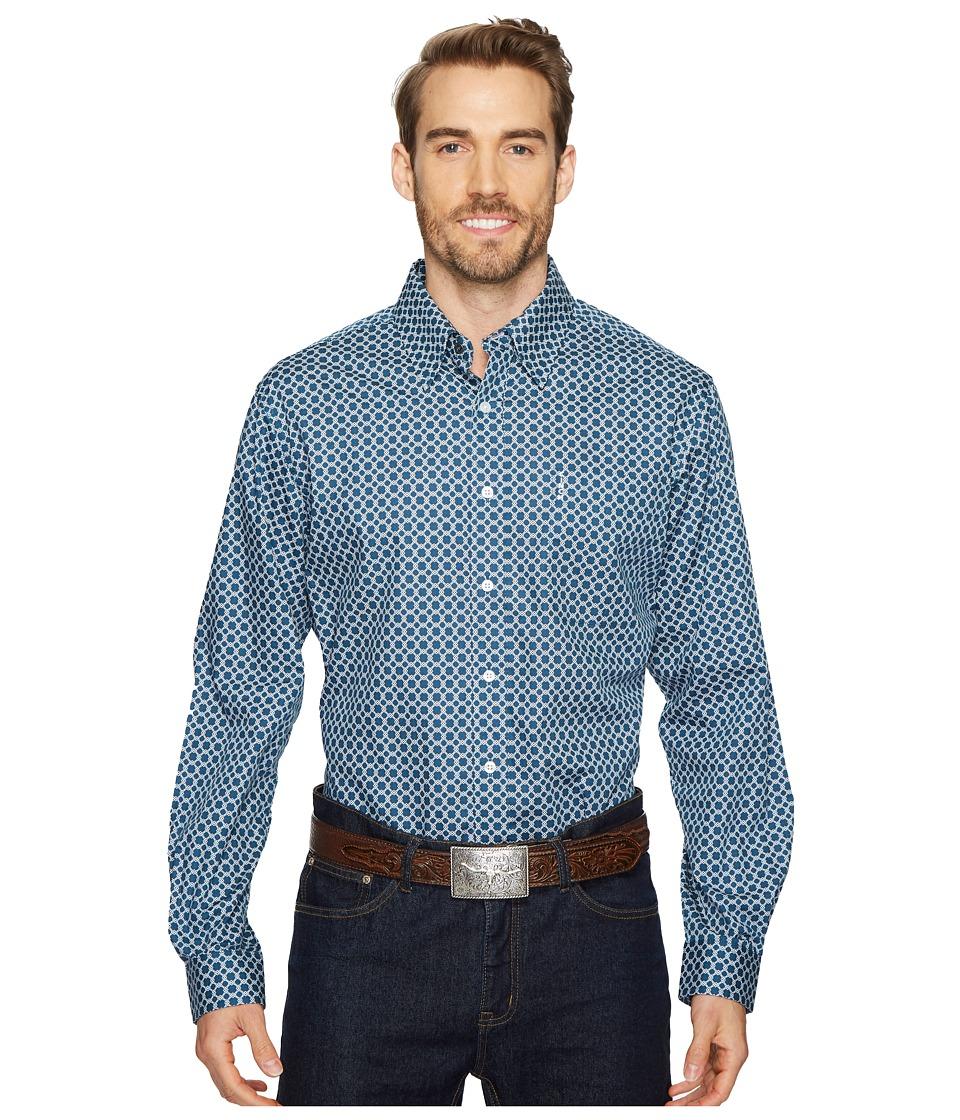 CINCH Modern Fit Basic Plain Weave (Blue) Men's Clothing