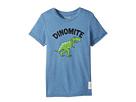 The Original Retro Brand Kids Dinomyte Short Sleeve Heather Tee (Little Kids/Big Kids)