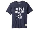 The Original Retro Brand Kids I'd Put Bacon on That Short Sleeve Tri-Blend Tee (Big Kids)
