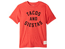 The Original Retro Brand Kids Tacos Siestas Short Sleeve Heather Tee (Big Kids)