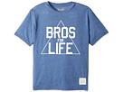 The Original Retro Brand Kids Bros for Life Short Sleeve Heathered Tee (Big Kids)