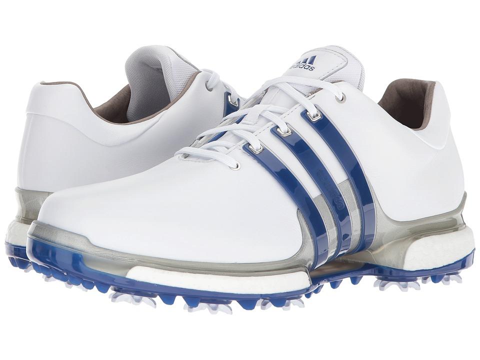 Adidas Golf - Tour360 2.0 (Footwear White/Collegiate Roya...