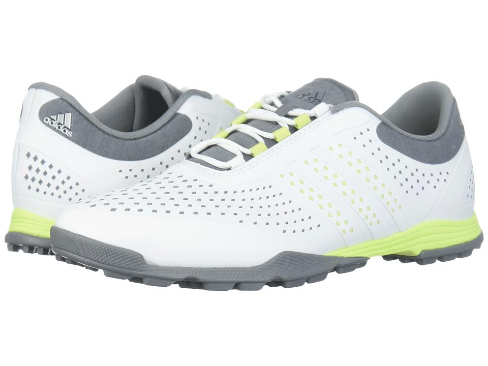 adidas Golf Adipure Sport (Footwear White/Semi Frozen Yellow/Grey Three) Women's Golf Shoes