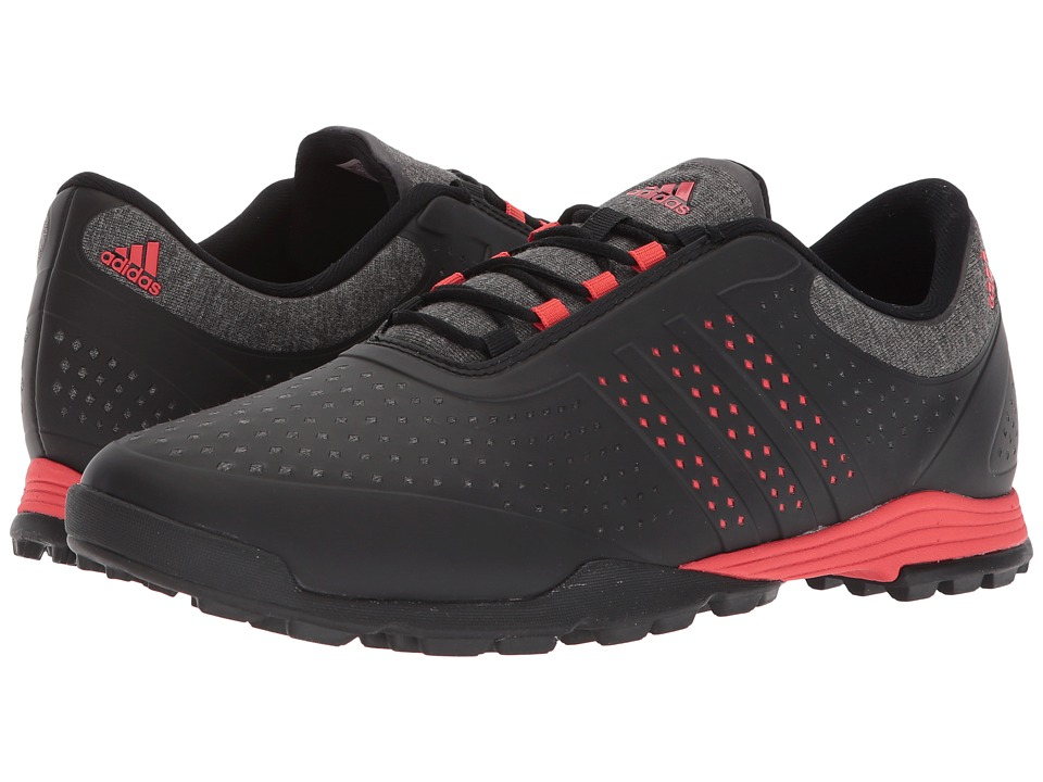 adidas Golf Adipure Sport (Core Black/Real Coral/Core Black) Women's Golf Shoes