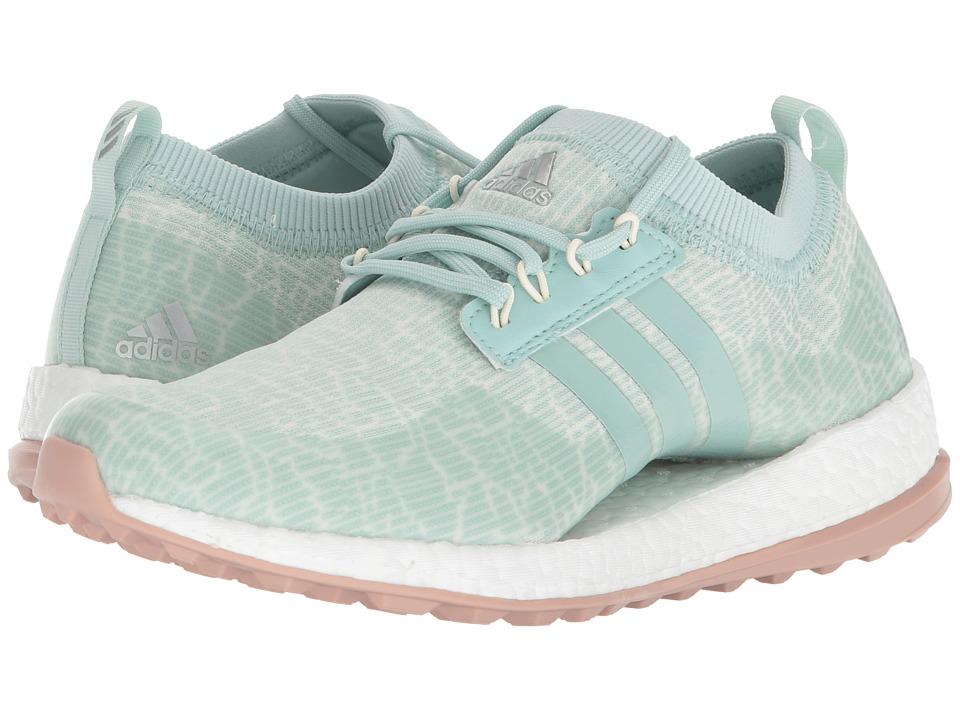 adidas Golf Pure Boost XG (Ash Green/White Tint/Ash Pearl) Women's Golf Shoes