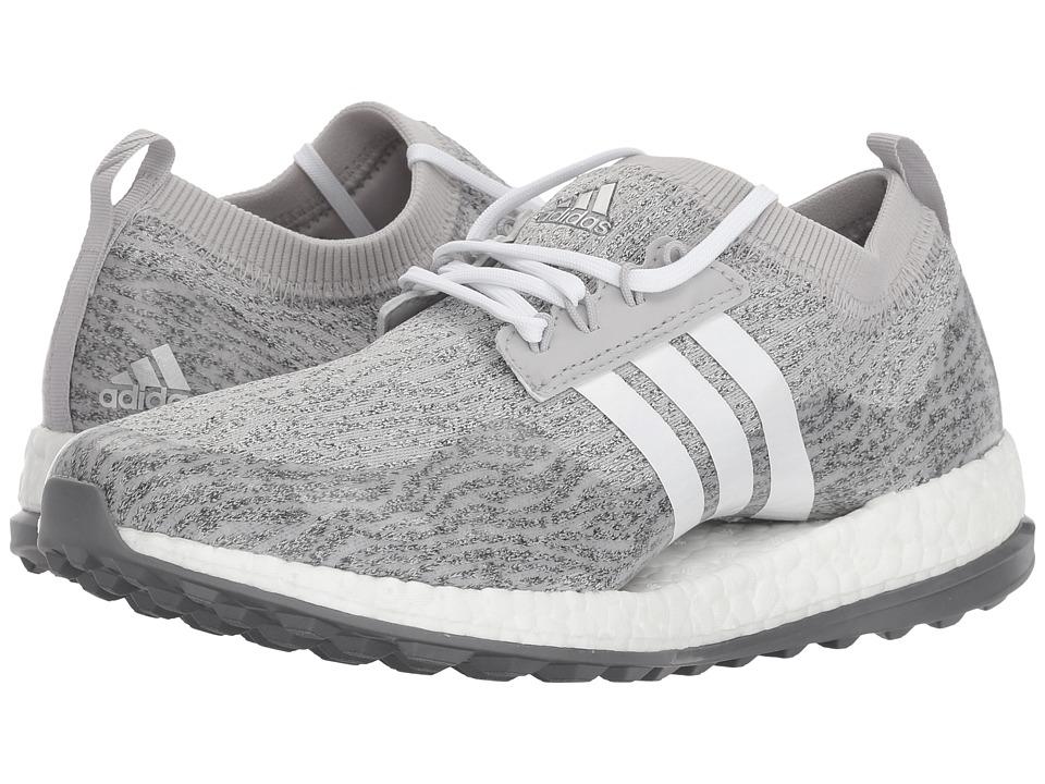adidas Golf Pure Boost XG (Grey Two/Footwear White/Night Metallic) Women's Golf Shoes
