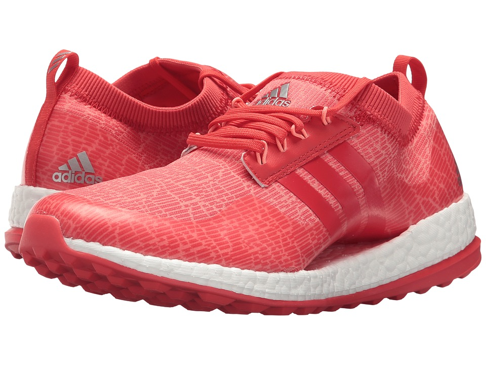 adidas Golf Pure Boost XG (Chalk Coral/Real Coral/Real Coral) Women's Golf Shoes