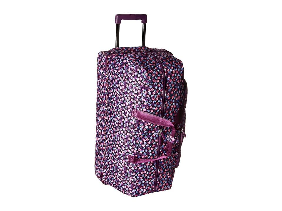 Vera Bradley Luggage - Lighten Up Large Wheeled Duffel (B...