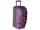 Vera Bradley Luggage Lighten Up Large Wheeled Duffel