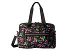 Vera Bradley Luggage Iconic Deluxe Weekender Travel Bag