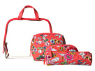 Vera Bradley Luggage Iconic Four-Piece Cosmetic Set