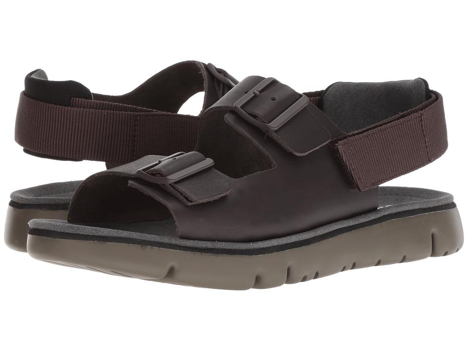 Camper - Oruga Sandal - K100287 (Dark Brown) Mens Shoes