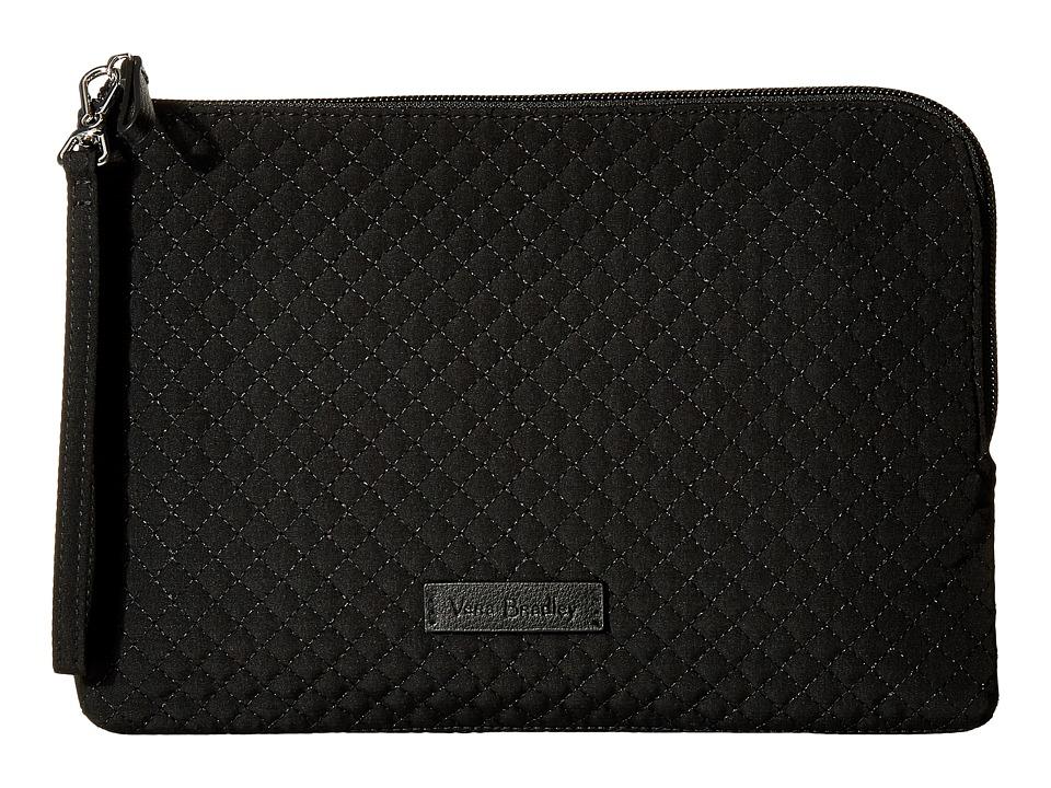 Vera Bradley - Iconic RFID Wristlet (Classic Black) Wristlet Handbags