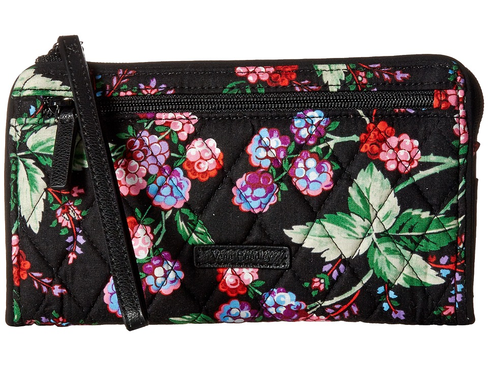 Vera Bradley - RFID Front Zip Wristlet (Winter Berry) Wristlet Handbags