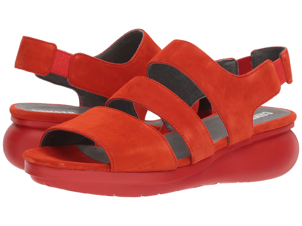 Camper - Balloon - K200611 (Medium Red) Womens Shoes