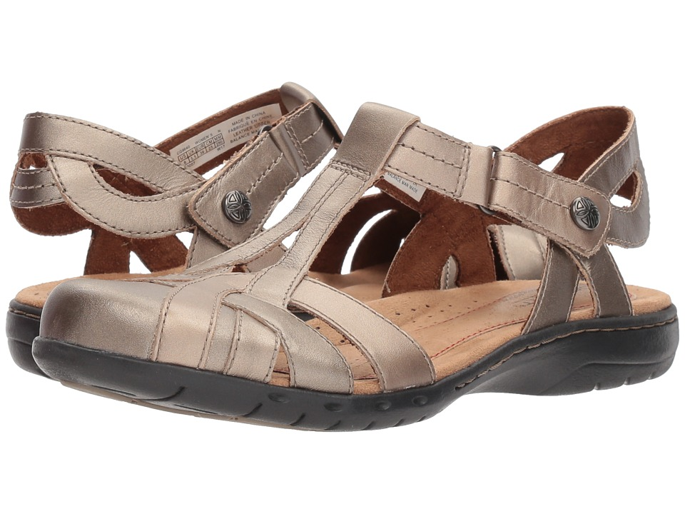 Rockport Cobb Hill Collection - Cobb Hill Penfield T Sandal (Platinum) Women's Sandals