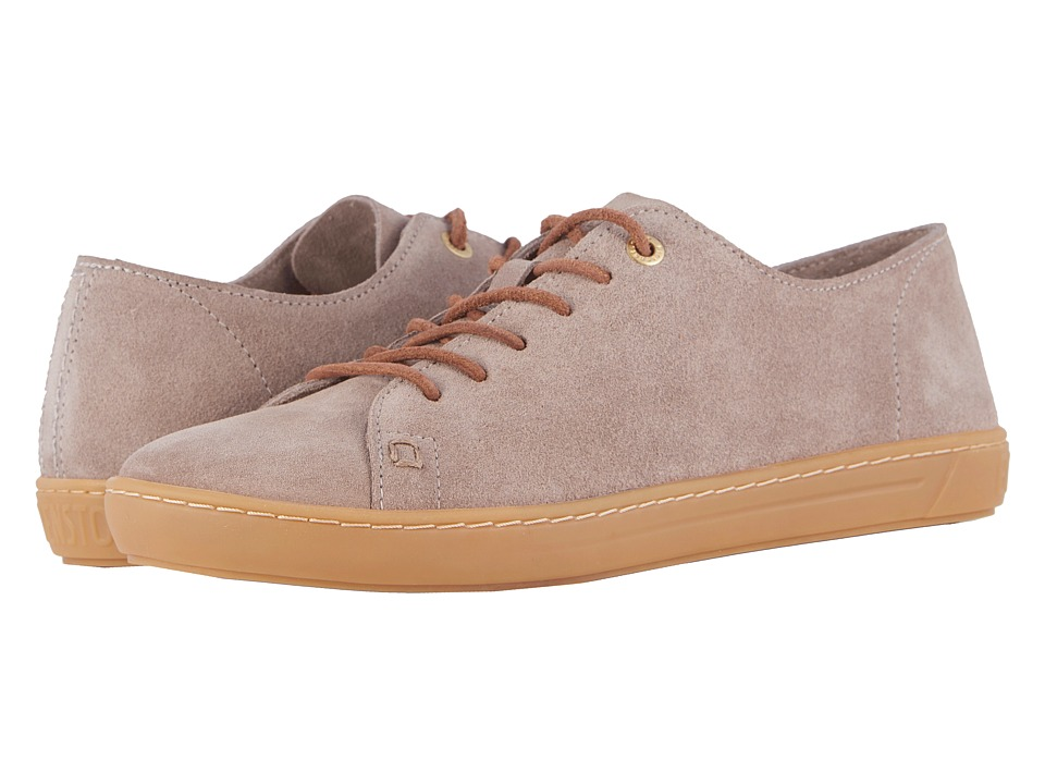 Birkenstock Arran - Suede (Taupe Suede) Women's Lace up c...