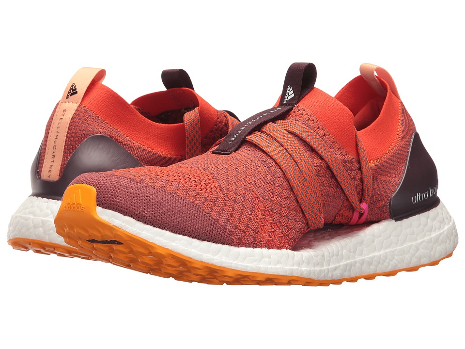 adidas by Stella McCartney Ultra Boost X (Clay Red/SMC/Radiant Orange F10/Apricot Rose/SMC) Women